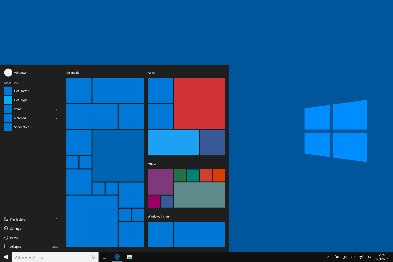 Start Menu not Working
