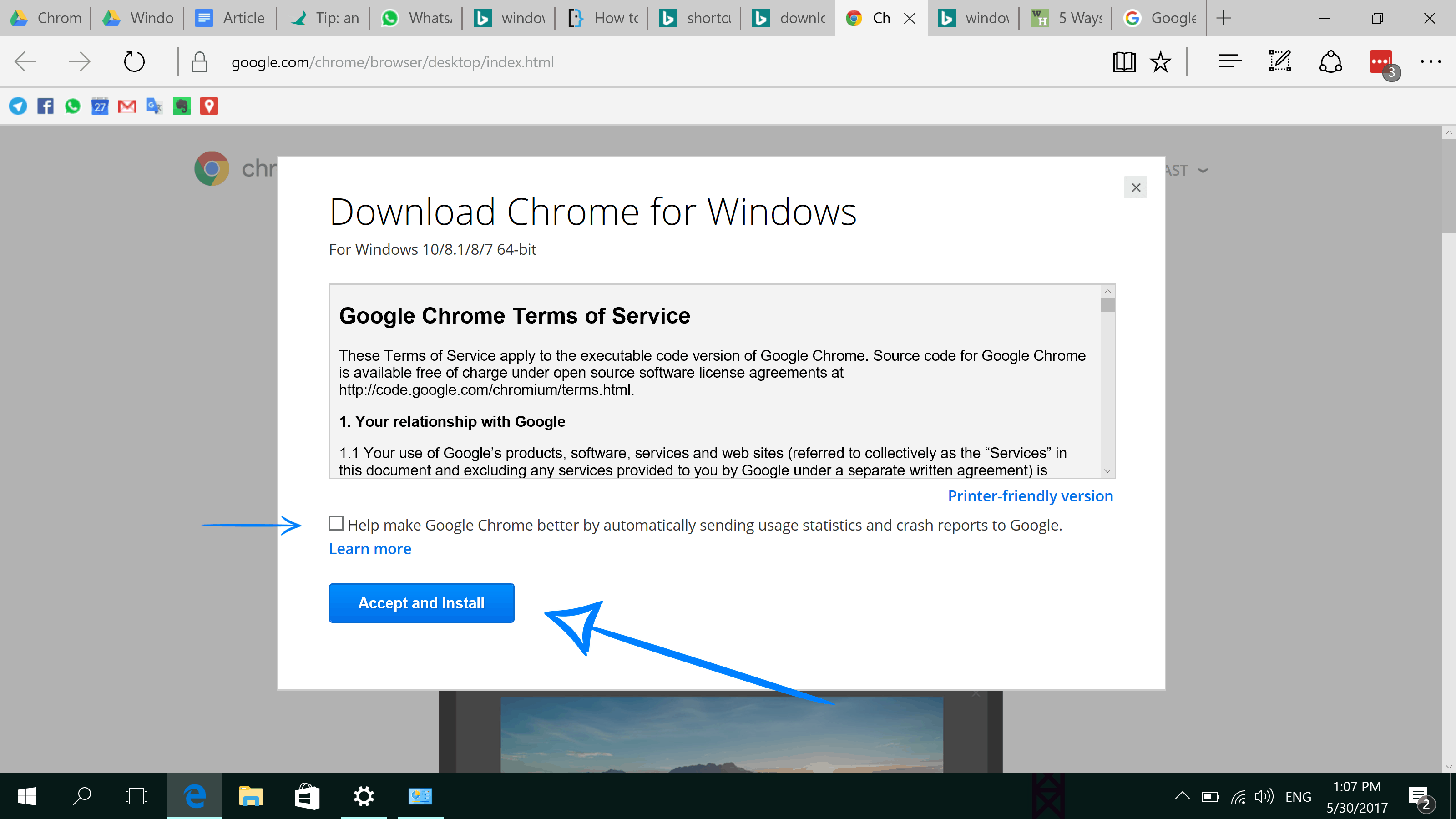 download chrome browser for windows 10