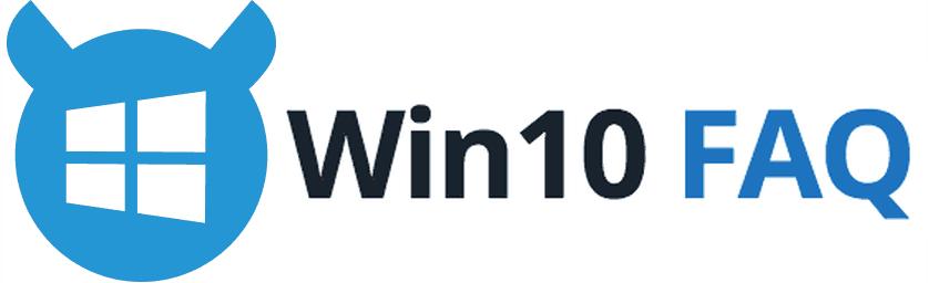 Win10 FAQ