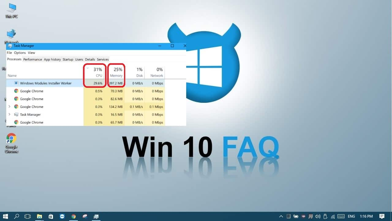 windows modules installer worker high cpu usage windows 8