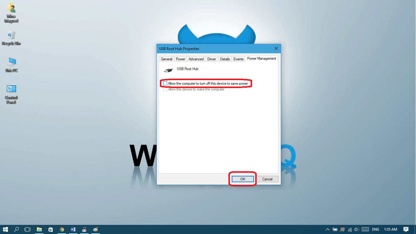 USB device not recognized - Win10 FAQ