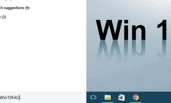 Search not working in Windows 10