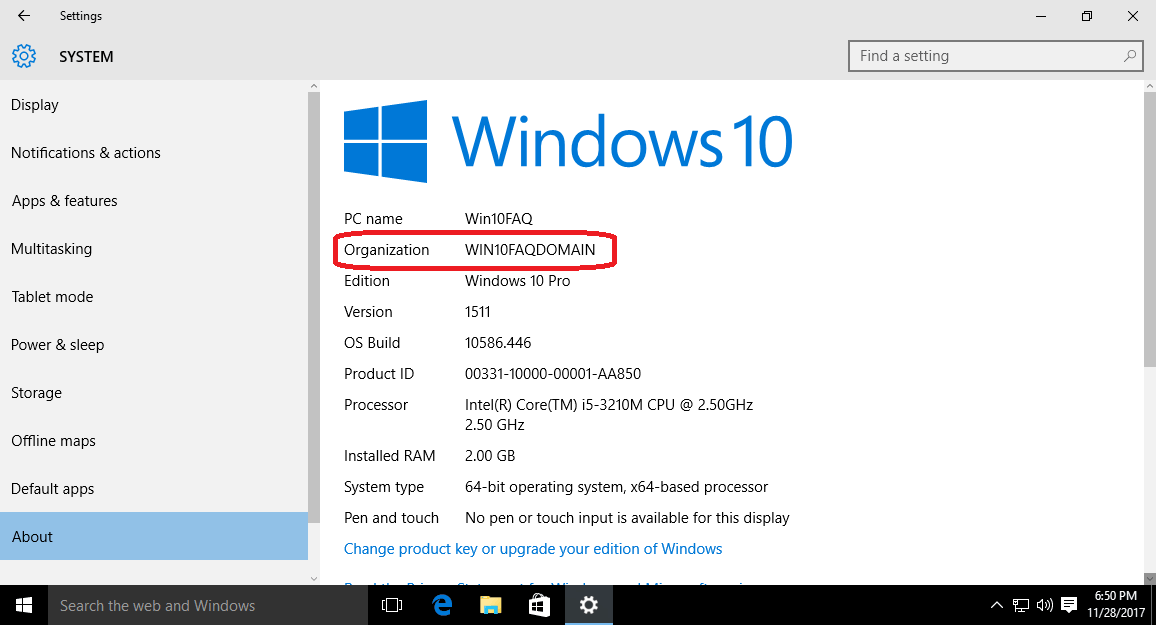 How To Join Your Windows 10 PC to a Domain - Win10 FAQ