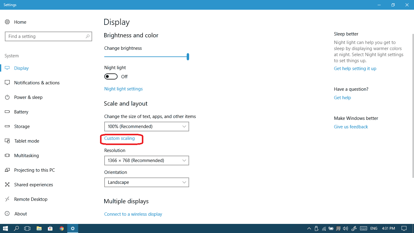 feature update to windows 10 1709 size