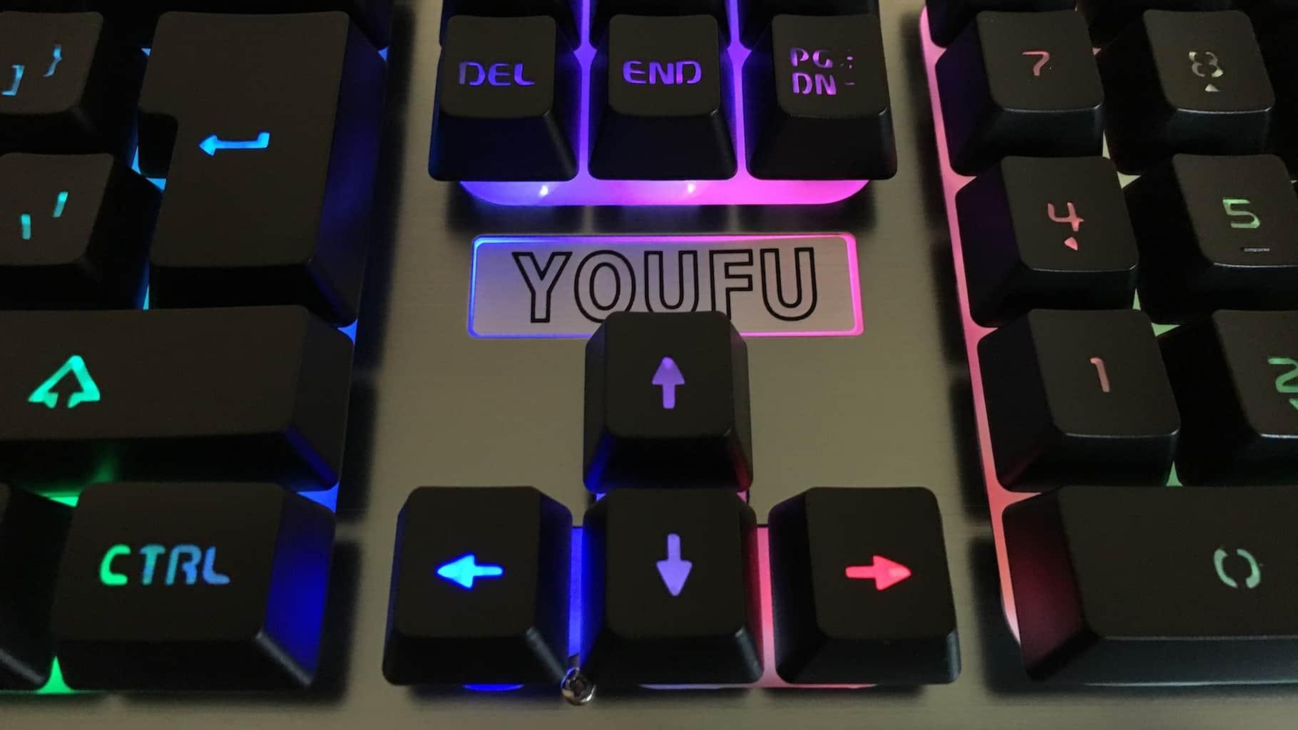 YouFu K2 Black Gaming Keyboard Review - Win10 FAQ