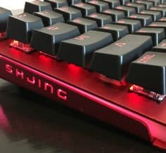 ET Robot E-Sports Mechanical Keyboard SHJING Review