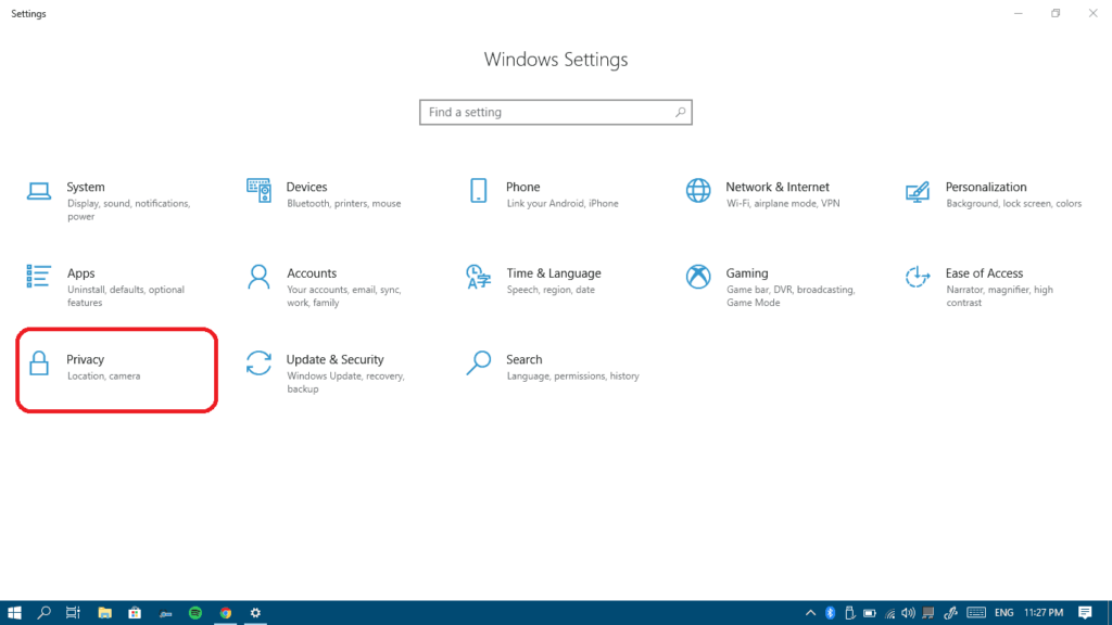 how to find microphone settings on win 10