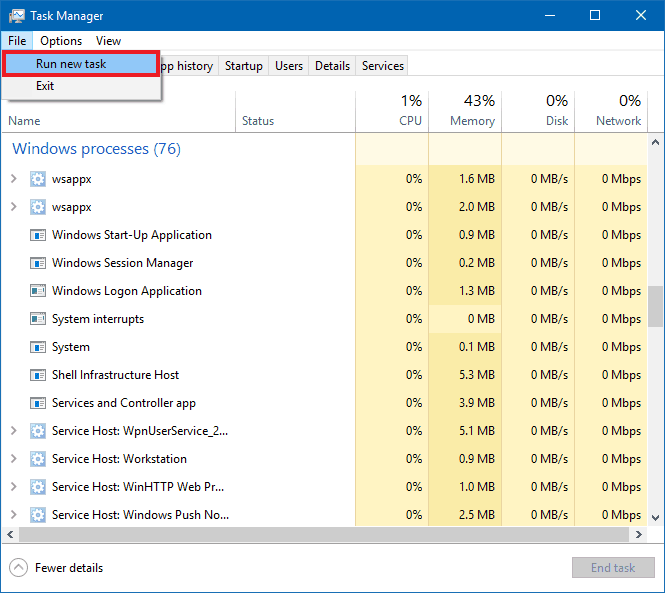 black screen after login windows 10 personalized settings