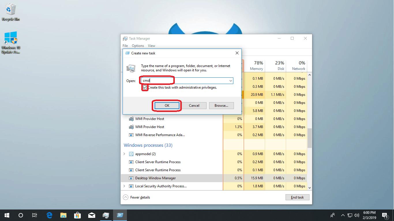 program wont open in full screen
