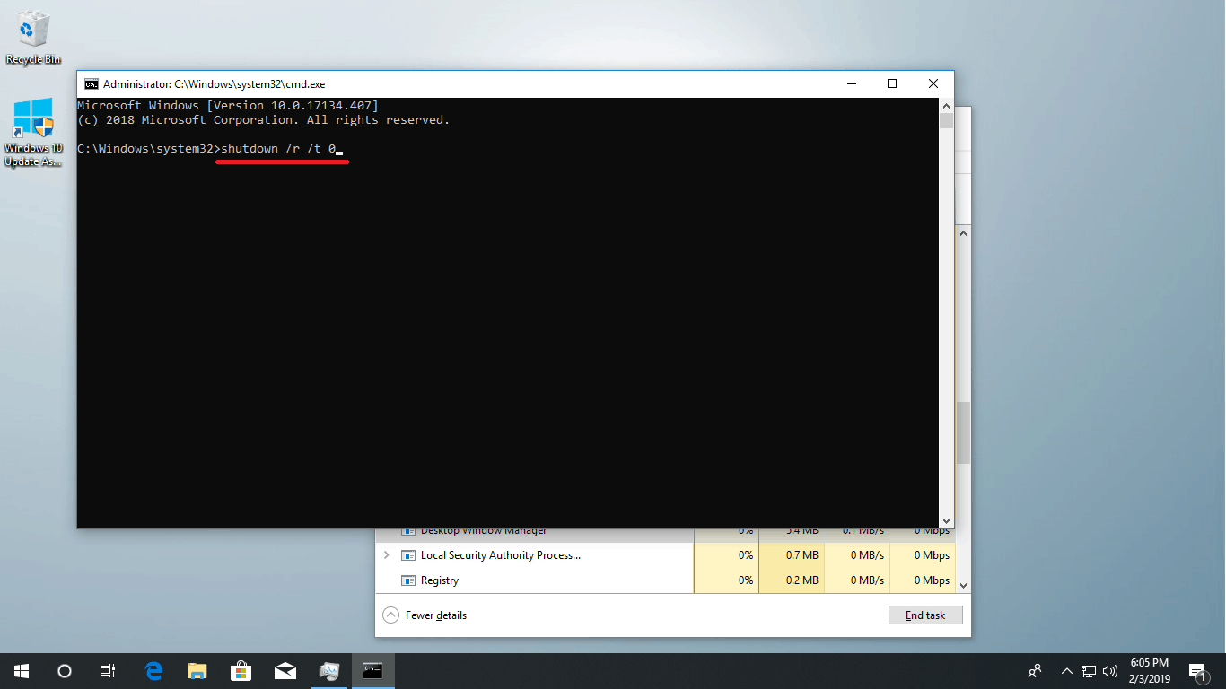 cant open start on windows 10